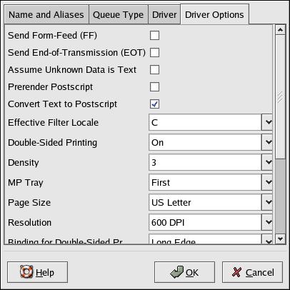 Printer Configuration and Setup